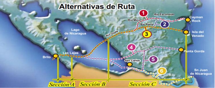nicaragua-planes del canal