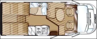 Hymer Tramp CL 674 BiancoLine - 2014