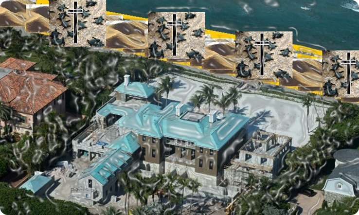 Elin Nordegren has purchased the house opposite her unfinished Florida beachfront mansion