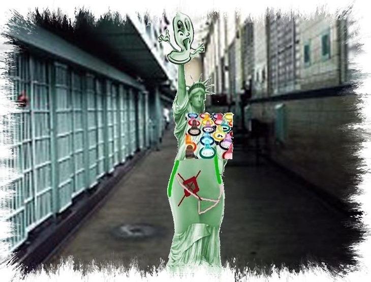 Rikers Island Prison- New York