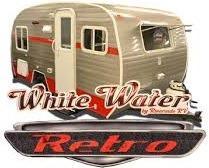 WHITE WATER Retro travel trailer