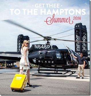 BLADE to Hamptons