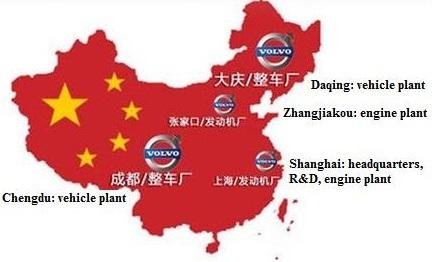 Plantas de Volvo-Geely en China