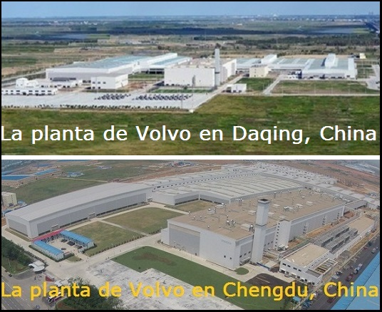 Volvo's Daqing plant in Heilongjiang province