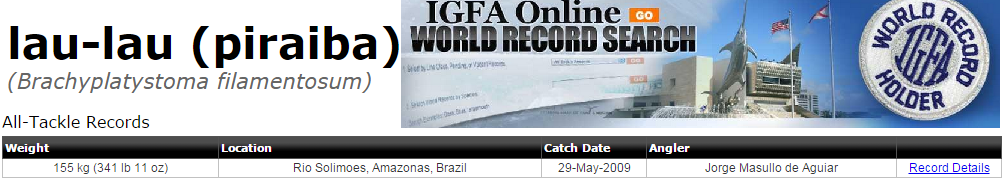 IGFA_-_lau-lau_(piraiba)_WORLD_RECORD