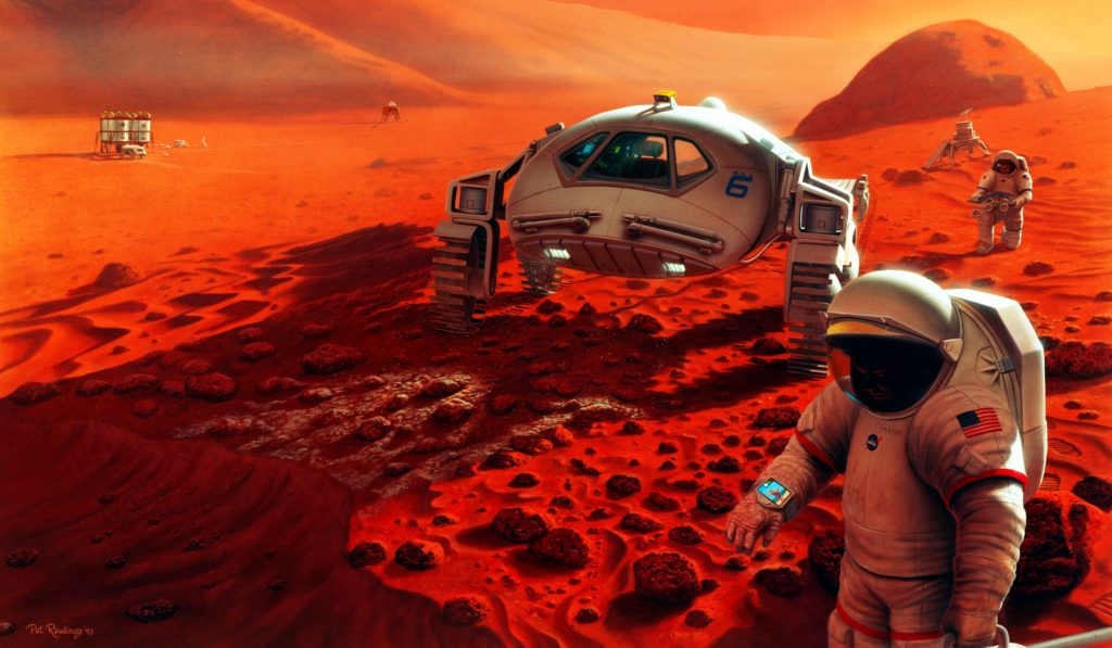 Humans on Mars may be in our future