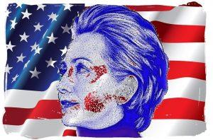American-Flag-US - Hilllary Clinton