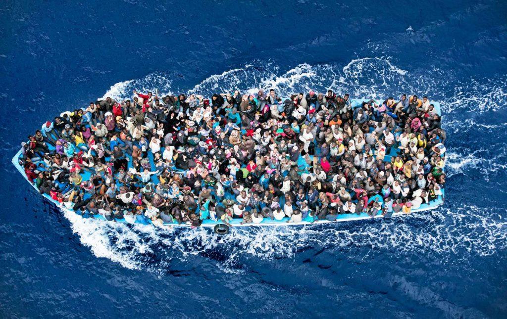flyktingar medelhavet