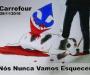 O triste fim da cadela envenenada e espancada por segurança do Carrefour