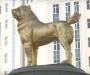 El perro dorado de Turkmenistán
