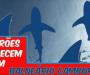 Tubarões aparecem em Balneário Camboriú